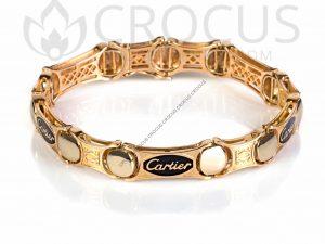 золотой Браслет Cartier 0010