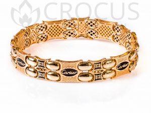 золотой Браслет Cartier 0010-2