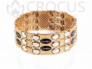 золотой Браслет Cartier 0010-3