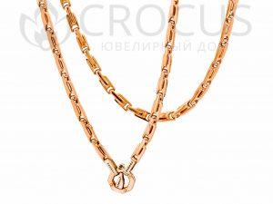 мужская золотая Цепь Baraka 0031