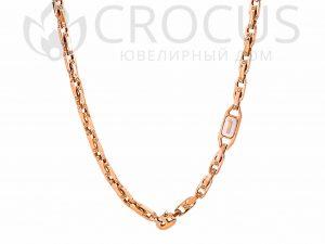 мужская золотая Цепь Baraka 0032