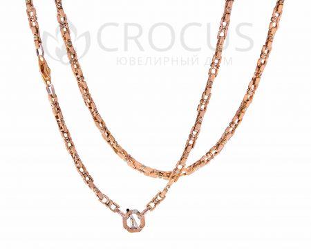 Золотая цепочка в стиле бренда Baraka