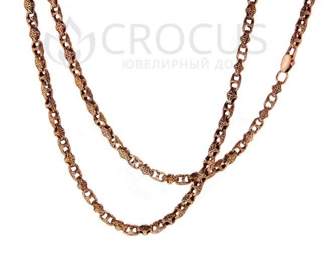 Золотая цепь Baraka от CROCUS