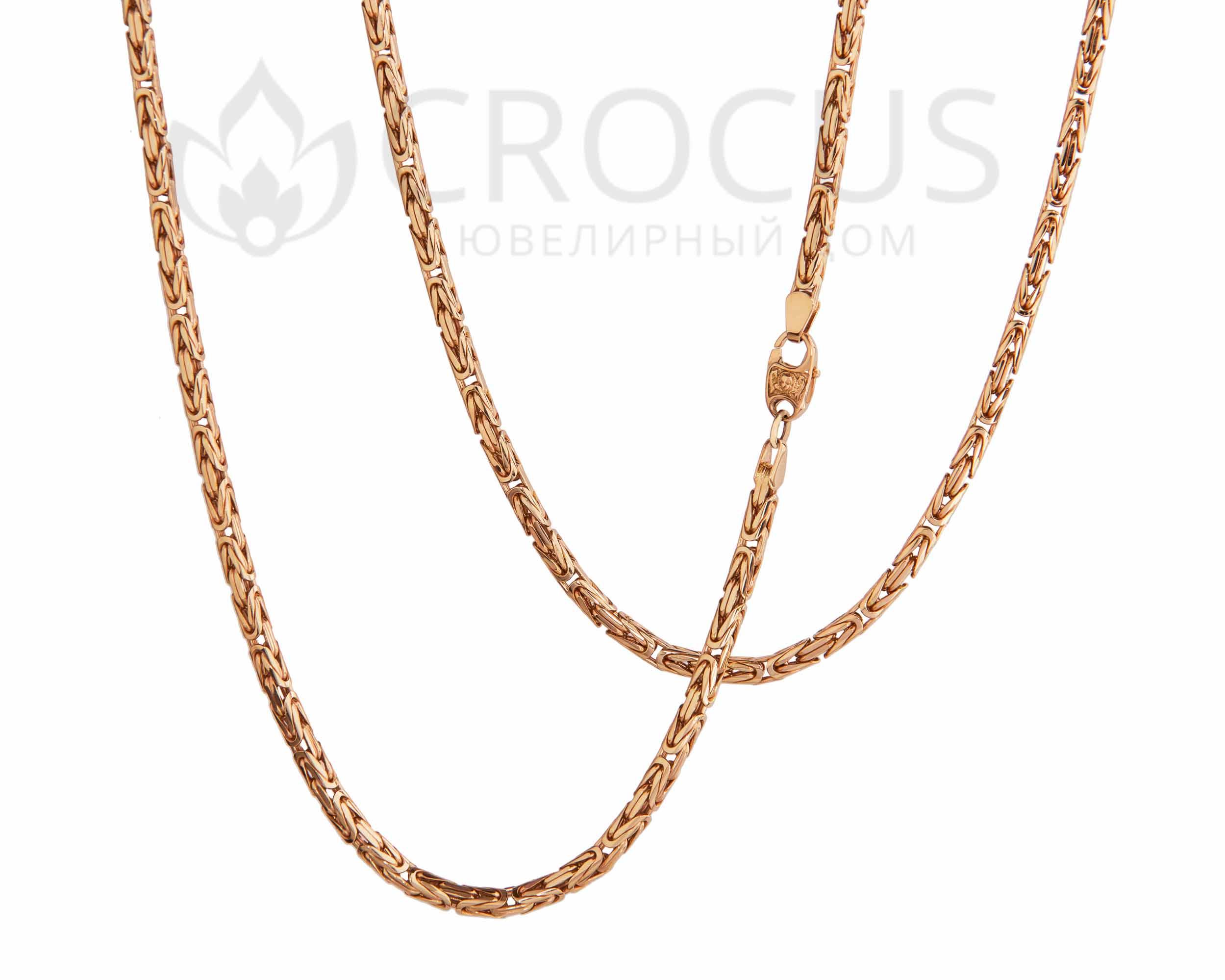 золотая цепочка Лисий хвост