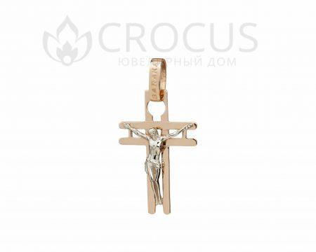 Золотой крест BARAKA