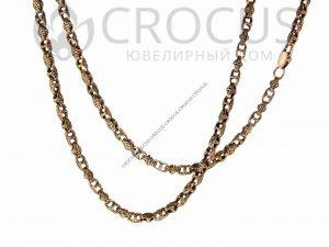 Золотая цепочка Baraka черненное золото