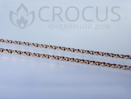 Золотая цепь Baraka 0029 черненное золото3