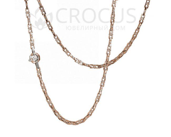 мужская золотая цепь в стиле Baraka 0014