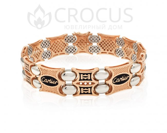 золотой браслет Cartier арт.0010-2
