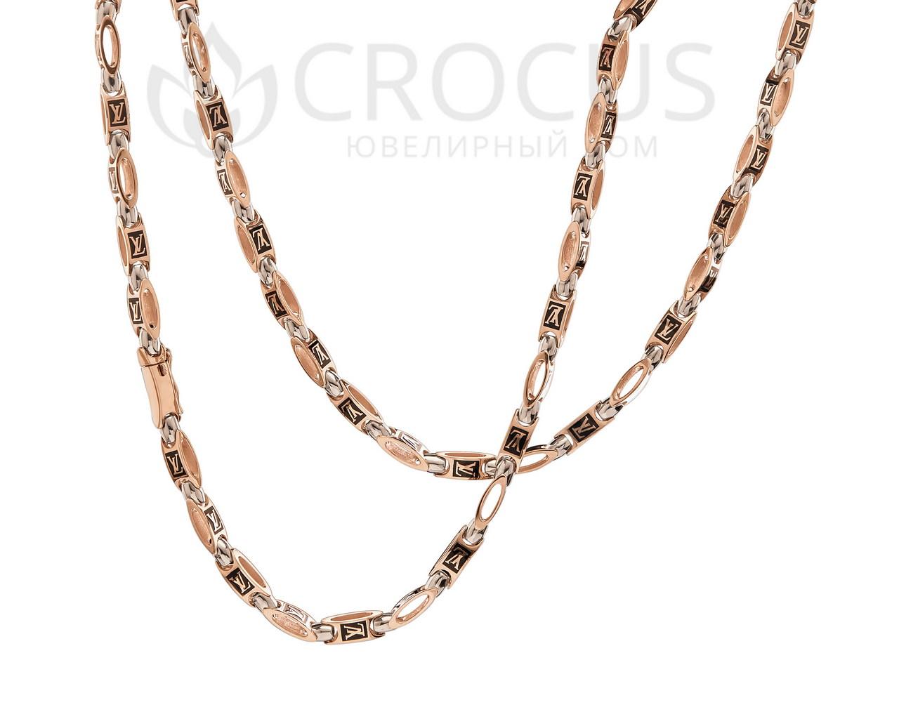 Золотая цепь Louis Vuitton (реплика) арт.0040