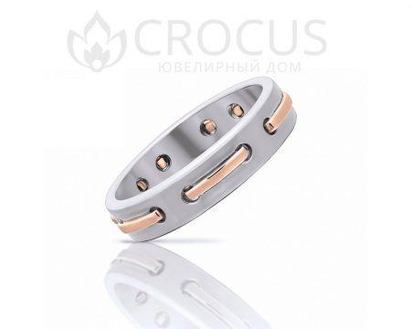 Кольцо из белого золота CROCUS 1006