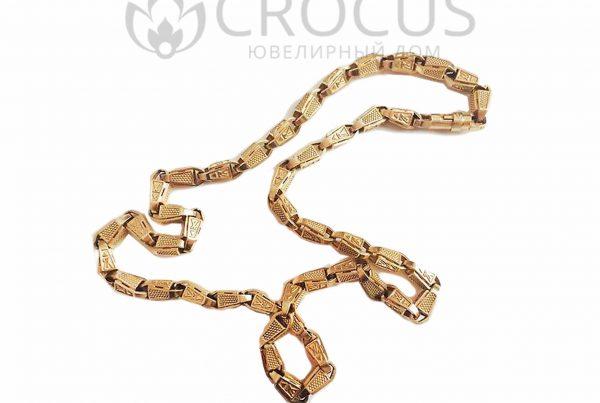 Золотая цепь Louis Vuitton (реплика) арт.0037