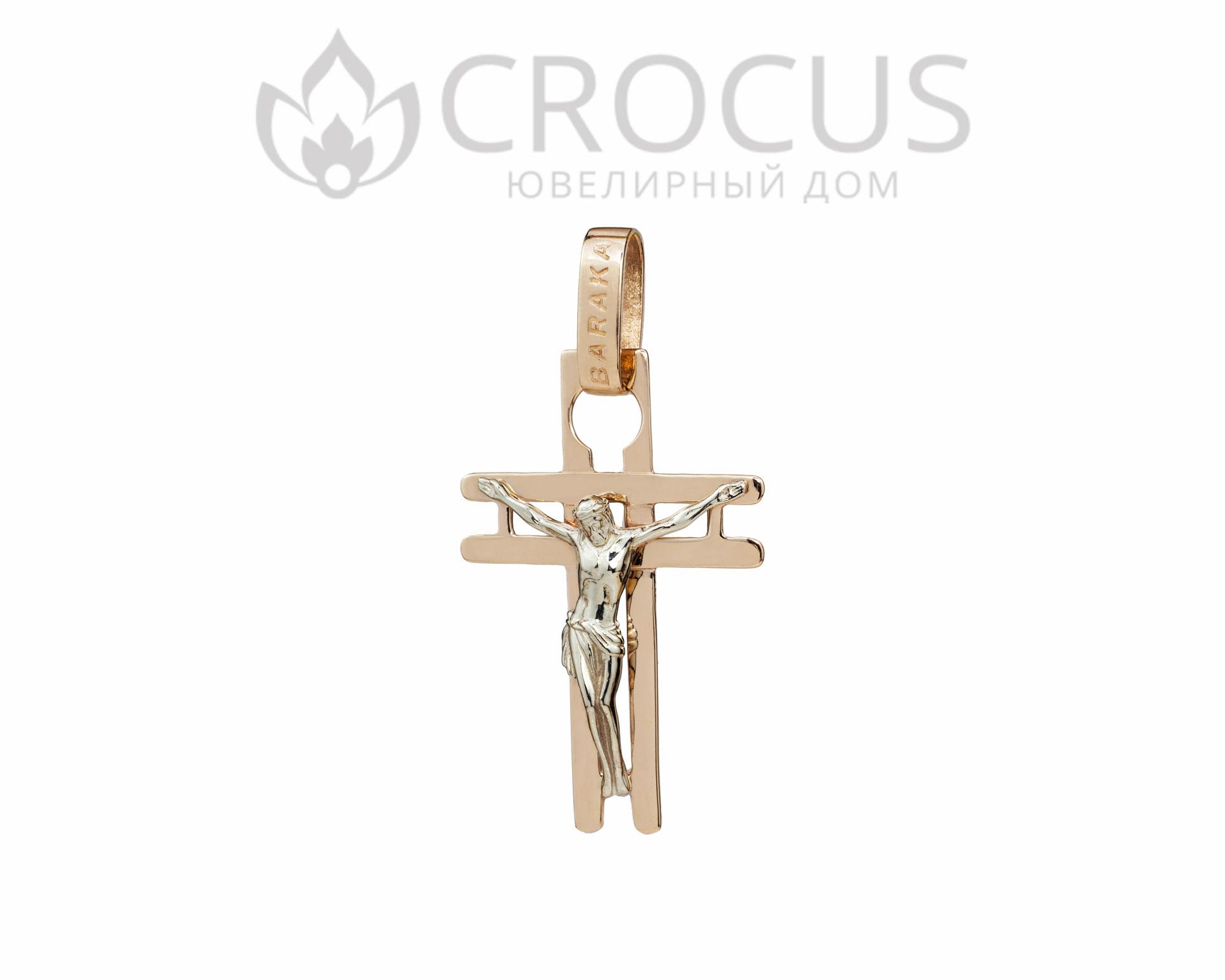 Золотая крест Baraka (реплика) арт.1500