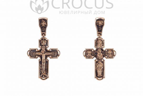 Крестик православный от CROCUS арт.1504