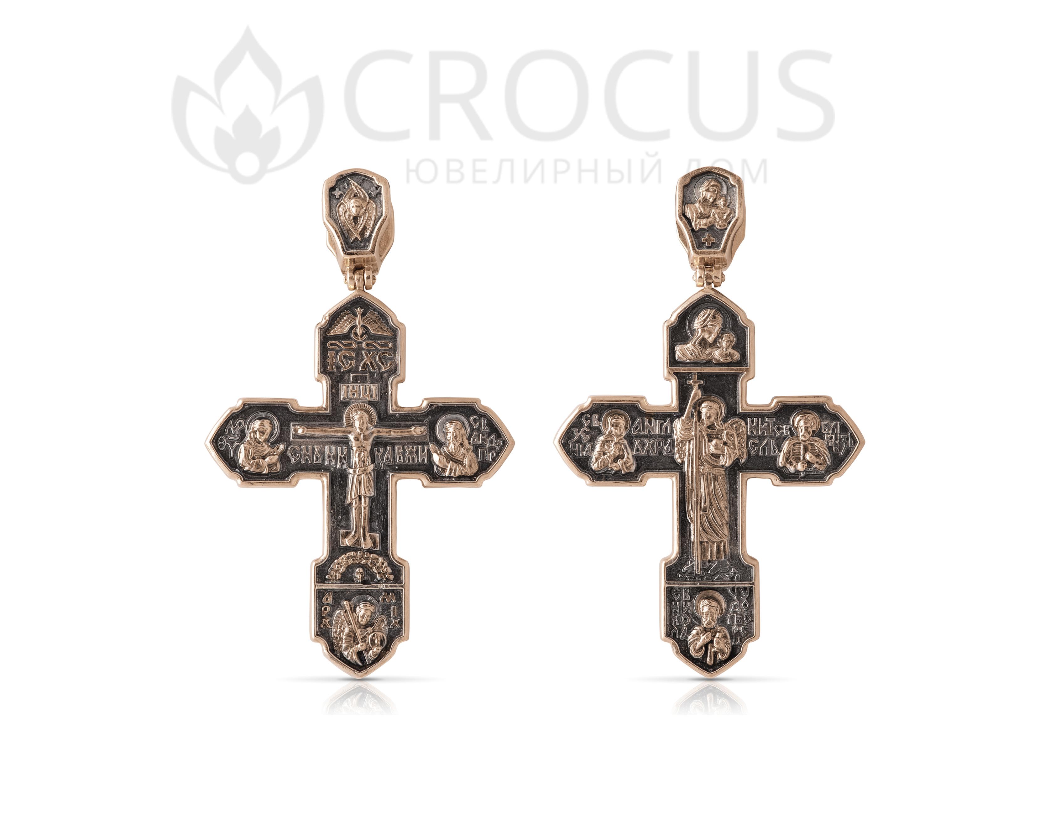 золотой крест православный тяжелый