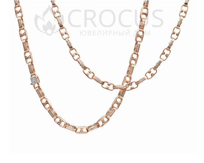 Золотая цепочка от CROCUS арт-0050