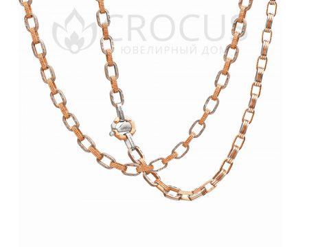 Купить мужскую золотую цепь Baraka 0051