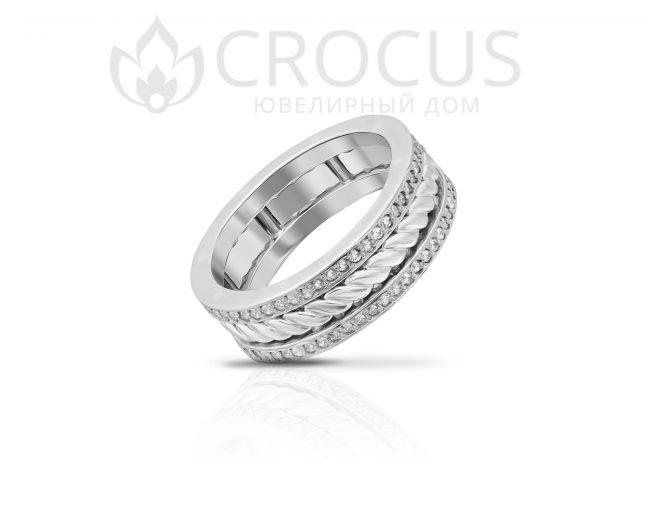 Золотое кольцо Crocus 1017-4