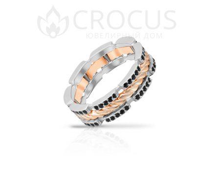 оригинальный перстень с камнями Crocus 1019/1-2